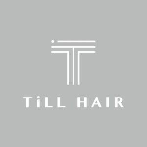 名古屋市昭和区御器所の美容院TiLL HAIR(ティルヘアー)のロゴ